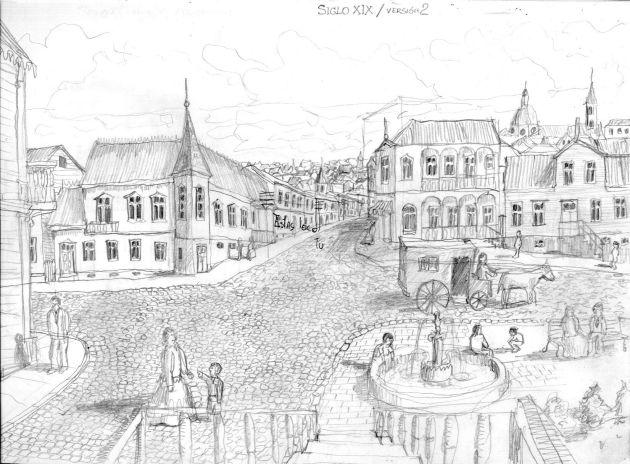 Barrio del siglo XIX